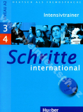 Schritte international 3 a 4 - cvičebnica nemčiny vr. audio-CD (Intensivtrainer)