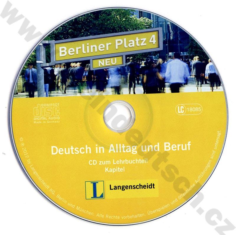 nem ina berliner platz 4 neu 2 audio cd k 4 dielu. Black Bedroom Furniture Sets. Home Design Ideas