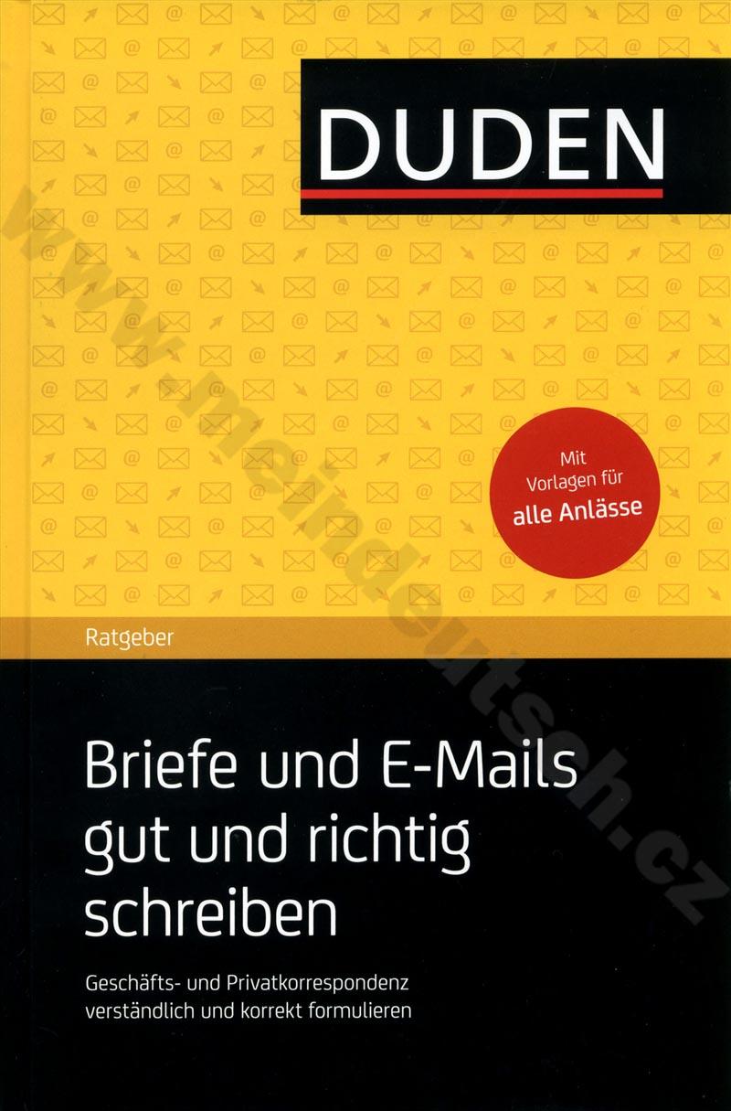 Briefe Schreiben Tablet : NemČina duden praxis briefe und e mails gut