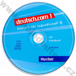 deutsch.com 1 - 2 audio-CD k 1. dielu učebnice
