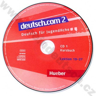 deutsch.com 2 - 2 audio-CD k 2. dielu učebnice