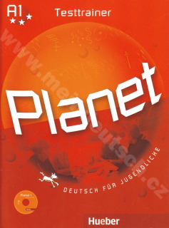 Planet 1 - Testtrainer - testy k 1. dielu učebnice s audio-CD