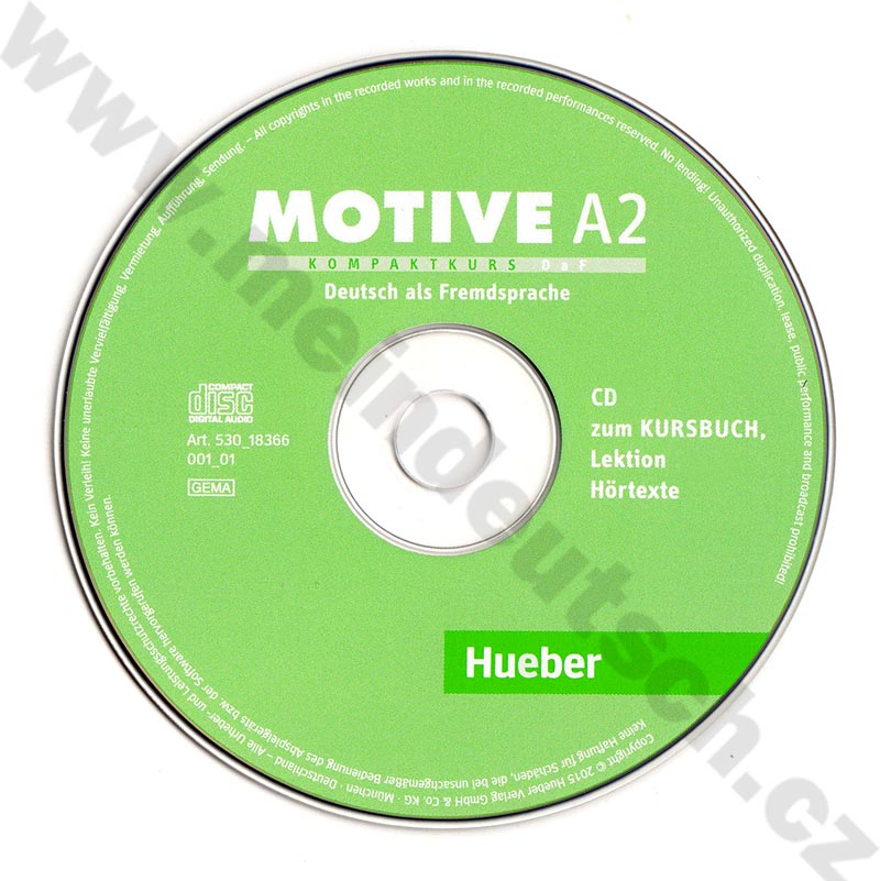 Motive A2 - 2 audio-CD s posluchovými textami